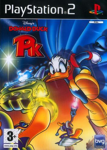 Donald Duck Who is PK