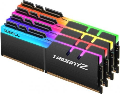 G.Skill Trident Z RGB DDR4 4x16GB, 2400MHz, CL15 F4-2400C15Q-64GTZR