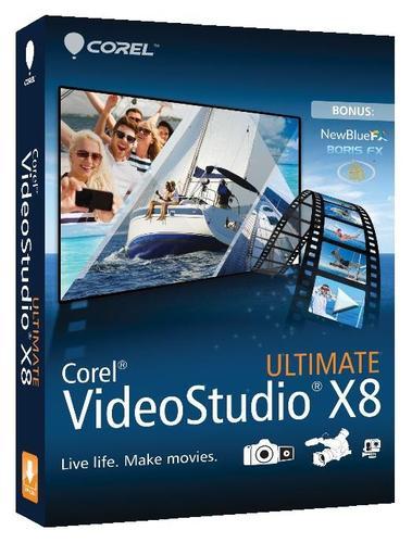 Corel VideoStudio Pro X8 Ult. ML mBox VSPRX8ULMLMBEU