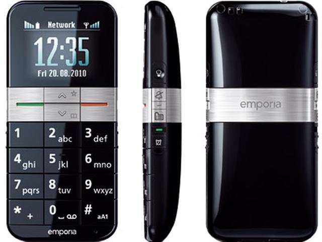 Emporia ELEGANCE plus - telefon idealny dla seniora