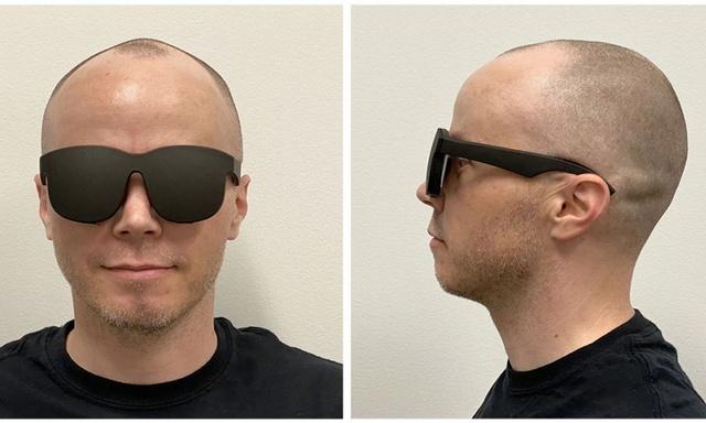 Holograficzne okulary VR od Facebooka