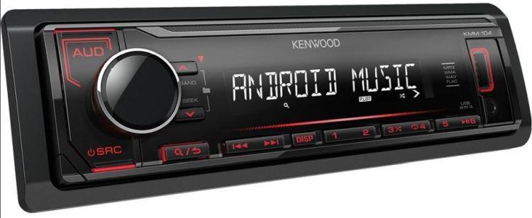 niedrogie radio do samochodu Kenwood KMM-104RY