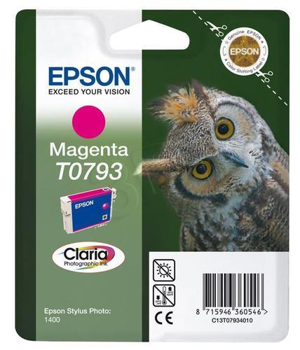 EPSON Tusz Czerwony T0793=C13T07934010, 11 ml