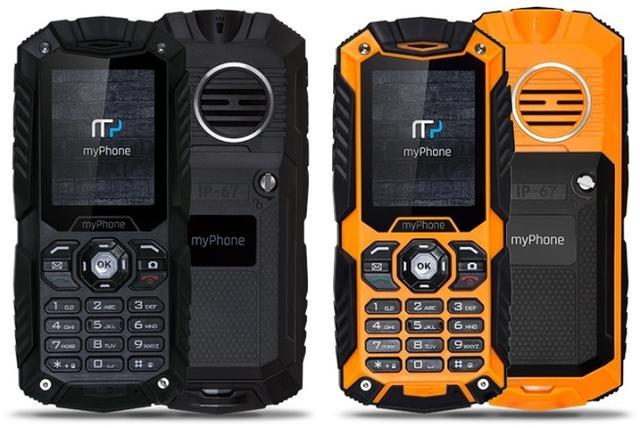 myPhone Hammer PLUS – Niezniszczalny Telefon Od 3 Października w Biedronce!
