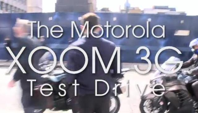 Motorola XOOM, jazda testowa