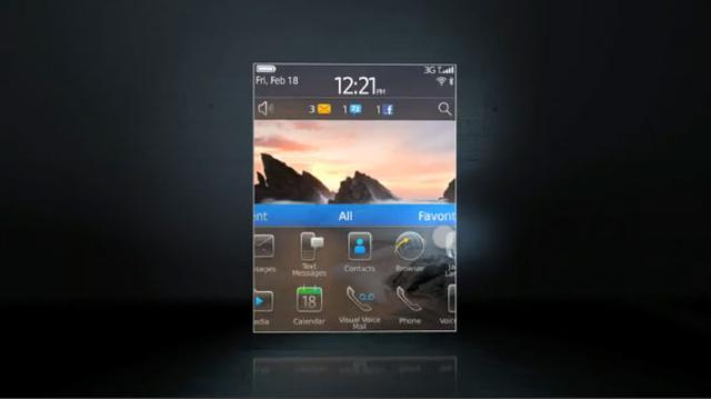 Nowy interfejs BlackBerry 6
