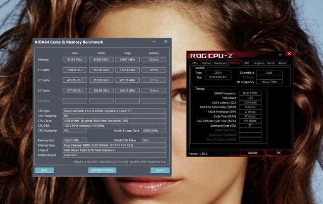 Adata XPG Dazzle 3000MHz CL16 platforma testowa
