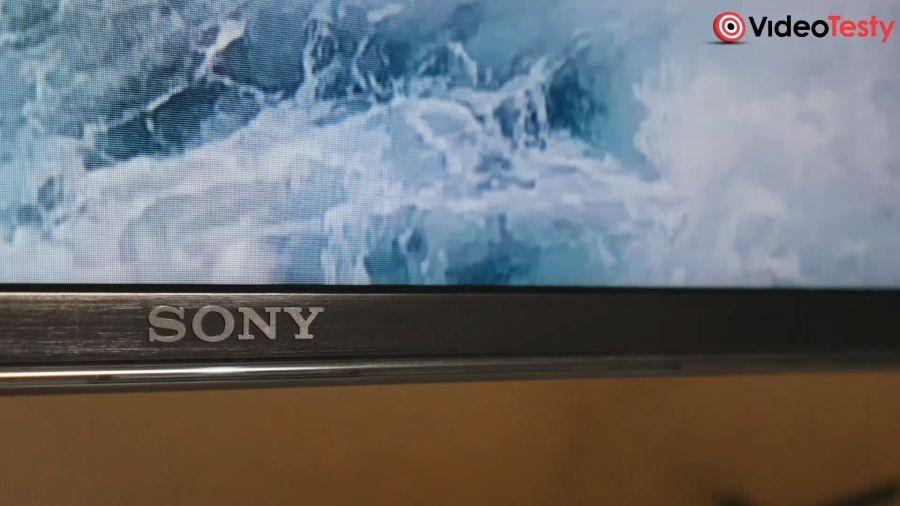 Sony Bravia KD-55XF9005 dolna krawędź