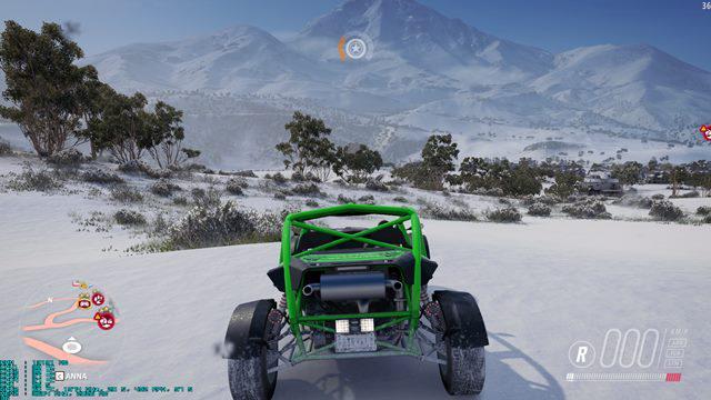 Asus Strix GTX 1050 gra w Forza Horizon 3