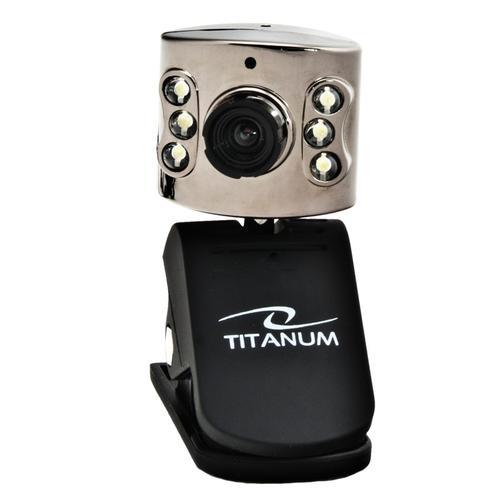 TITANUM KAMERA INTERNETOWA TC102 Mikrof/USB/5.0Mpix/LEDx6