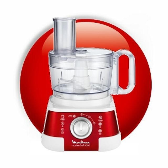 Moulinex FP519 Masterchef 5000 - nowoczesny robot kuchenny