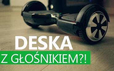 Cavion Go - Deska Elektryczna z Głośnikiem?