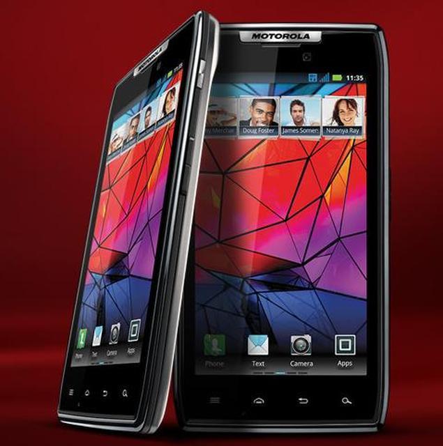 Motorola RAZR to połączenie niewiarygodnie cienkiej konstrukcji i innowacyjności