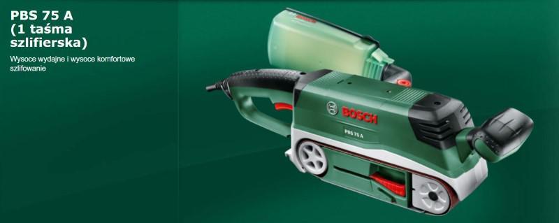 Bosch PBS 75 A to tani i wydajny sprzęt