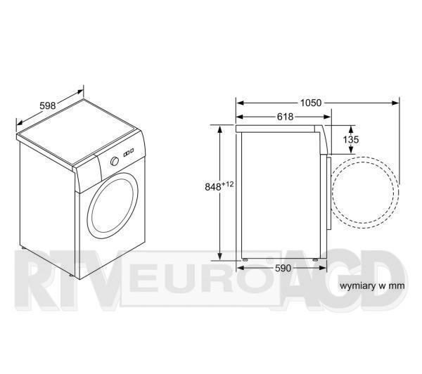 Siemens WM12T460PL iQ500 iSensoric