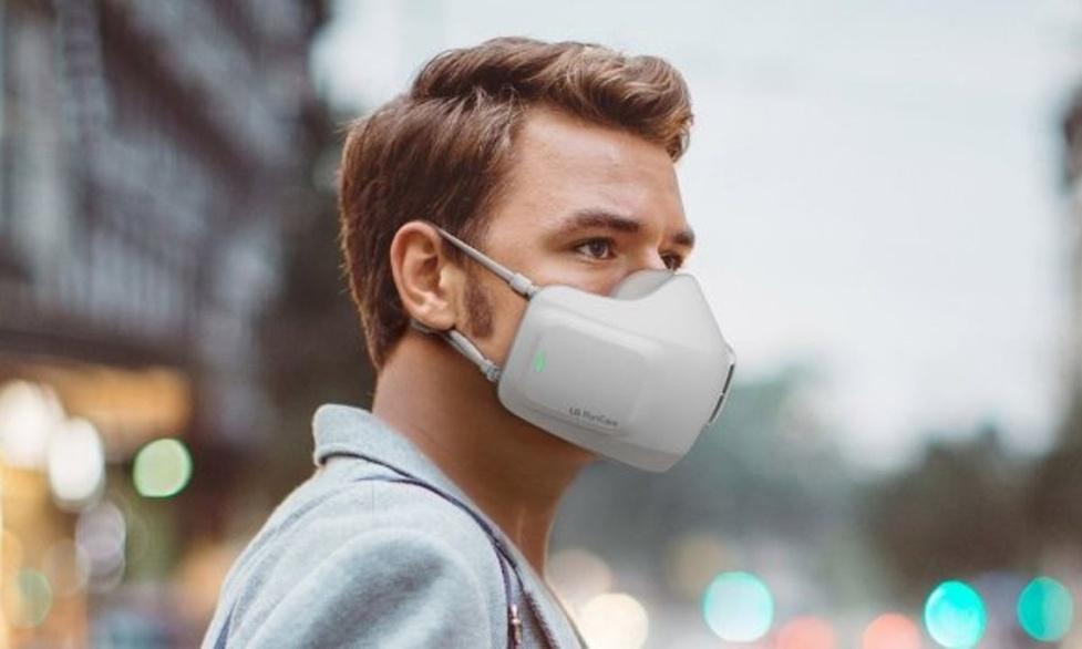 LG zamierza produkować maseczkę z wbudowanym oczyszczaczem powietrza!