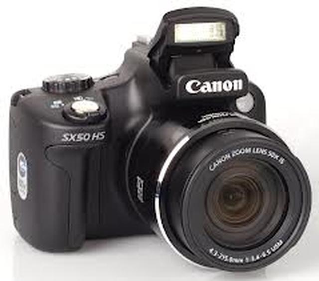Canon PowerShot SX50 HS - obiektyw z 50-krotnym zoomem i wiele innych zalet