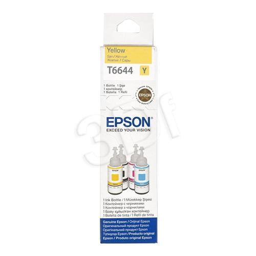EPSON Tusz Żółty T66444=C13T66444A, 6400 str., 70 ml