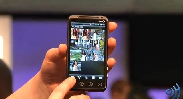 HTC Evo 3D - Telefon komórkowy
