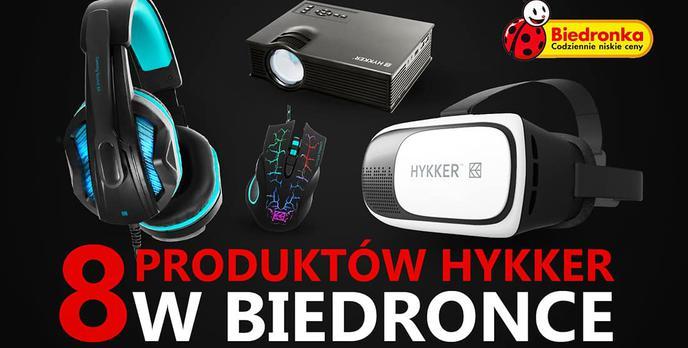 Osiem Produktów Hykker w Biedronce - Już od Poniedziałku!