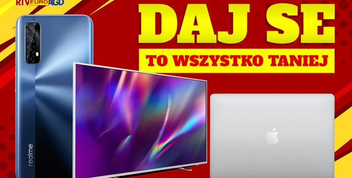 realme 7 za 699 zł w najmocniejszej opcjI! Weekend wyprzedaży w RTV Euro AGD
