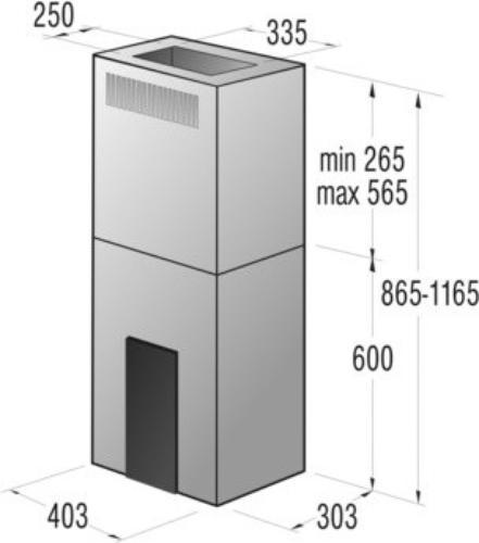 Gorenje Okap wyspowy IDQ4545X