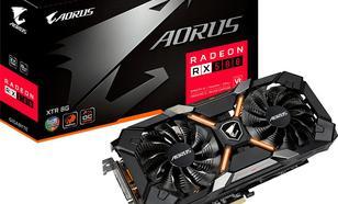Gigabyte Radeon RX 580 AORUS XTR 8GB GDDR5 (256 bit), DVI-D, HDMI, 3xDisplayPort, BOX (GV-RX580XTRAORUS-8GD)
