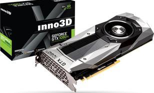 Inno3D GeForce GTX 1080 Ti Founders Edition 11GB GDDR5X (352 bit), HDMI, 3x DP, BOX (N108T-1DDN-Q6MO)