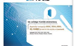 Actis KL-100Bk tusz czarny do drukarki Lexmark (zamiennik Lexmark 14N1068E) Supreme