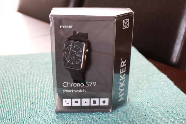 Hykker Chrono S79 - Recenzja Smart Watcha za 159z