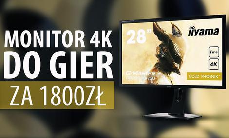 Test iiyama G-Master GB2888UHSU - Monitor 4K do gier