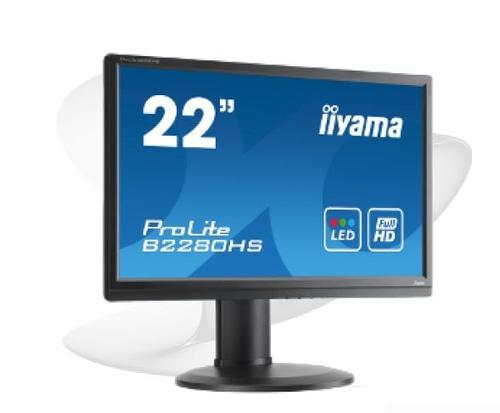 iiyama 21,5'' B2280HS LED DisplayPort DVI Głoniki Pivot HAS