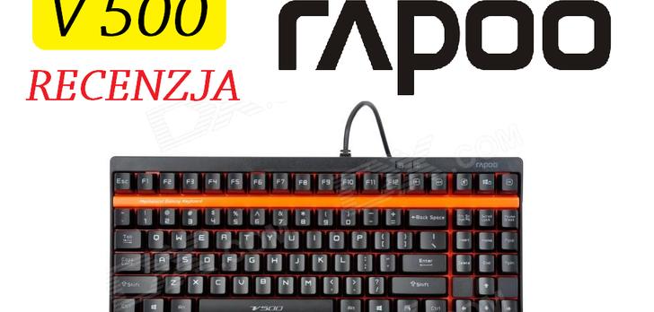 Rapoo V500 - Kompaktowa Klawiatura Mechaniczna Dla Każdego