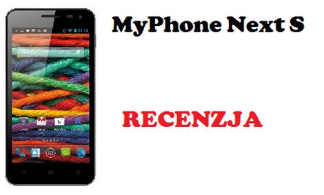 MyPhone Next S - budżetowiec z aspiracjami