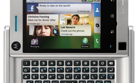 Motorola Devour – smartfon z Androidem i obsługą Flasha