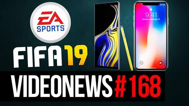 Note 9 słabszy od iPhone X, Battle Royale w FIFA 19 - VideoNews #168