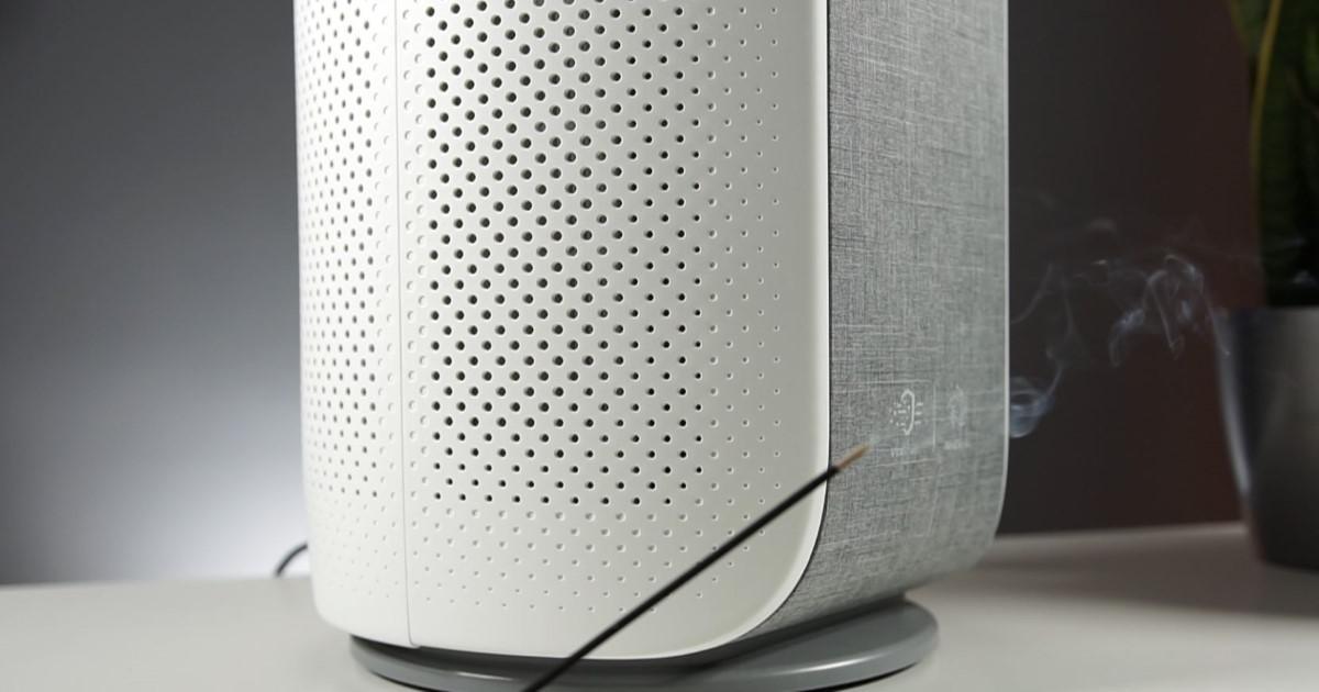 Philips AC3858/50 zasysający powietrze i dym z kadzidła