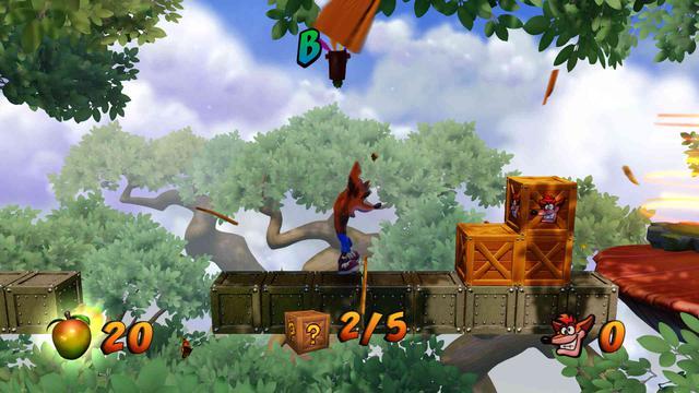 Crash Bandicoot N. Sane Trilogy - W końcu, można ponawiać poziomy bonusowe!