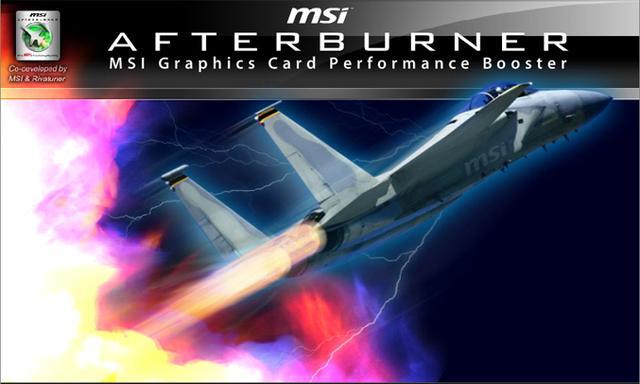 MSI Afterburner - nowe narzędzie dla kart graficznych