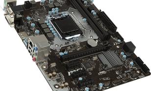 MSI H110M PRO-VDP, H110, DualChannelDDR4, DisplayPort, PCIe. SATA 3, DVI (007A48-001R)