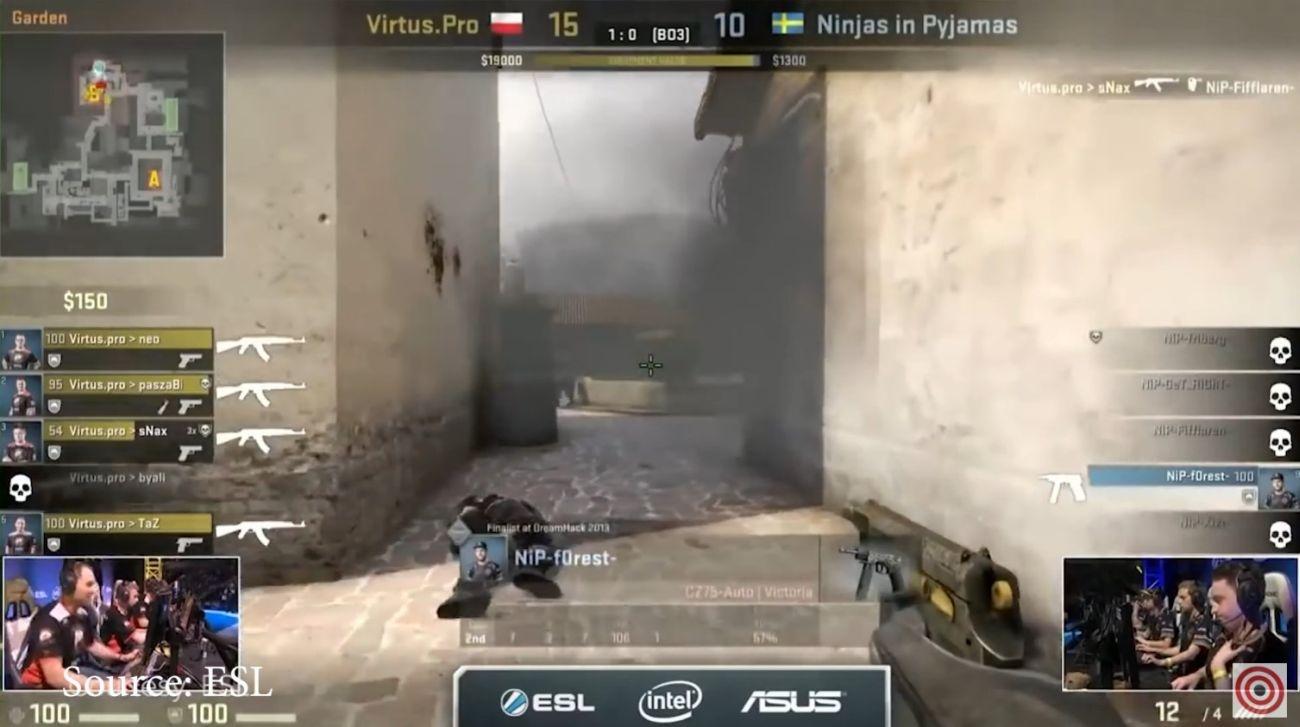 wygrana virtus.pro w CS:GO
