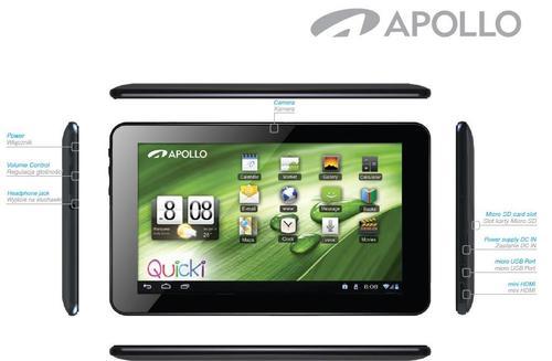 Apollo Quicki 770 1024x600 Dual Core 1GB DDR3