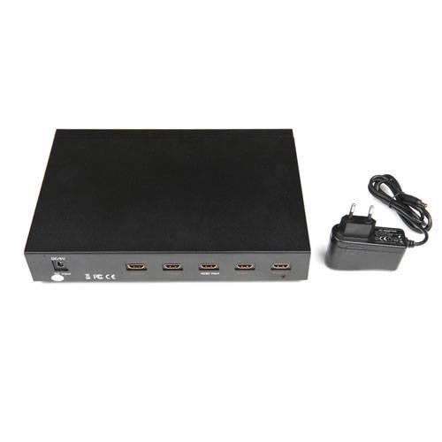 4World Rozdzielacz sygnalu HDMI 1x4, HDMI 1.3b