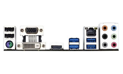 Gigabyte GA-H97M-D3H s1150 H97 4DDR3 RAID/GLAN uATX