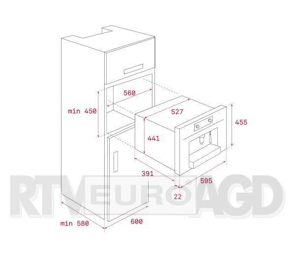Teka CLC 855 GM (szary) - RATY 0%