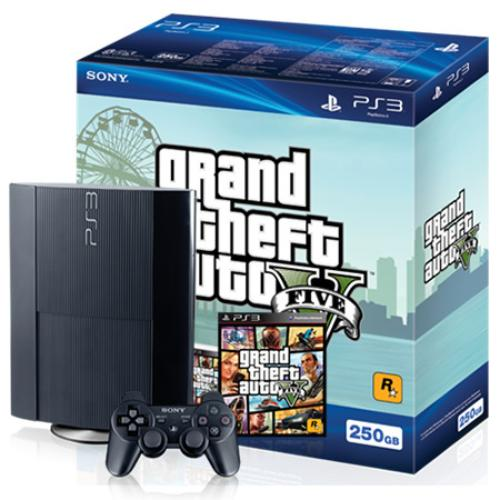 PS3 500GB + GTA V