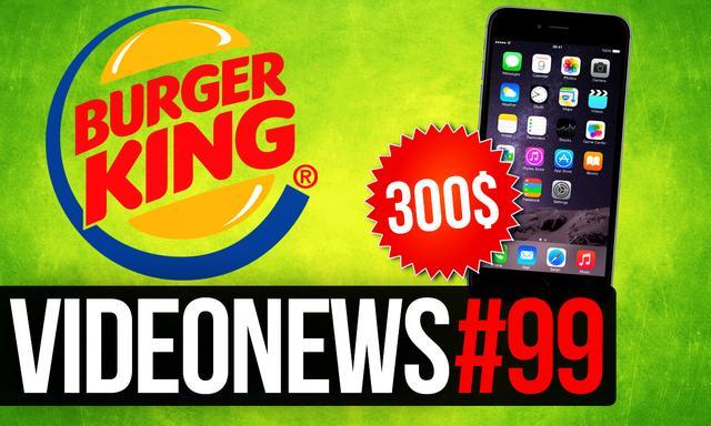 iPhone za 300$, Burger Troll i Autonomiczne Samochody - VideoNews #99