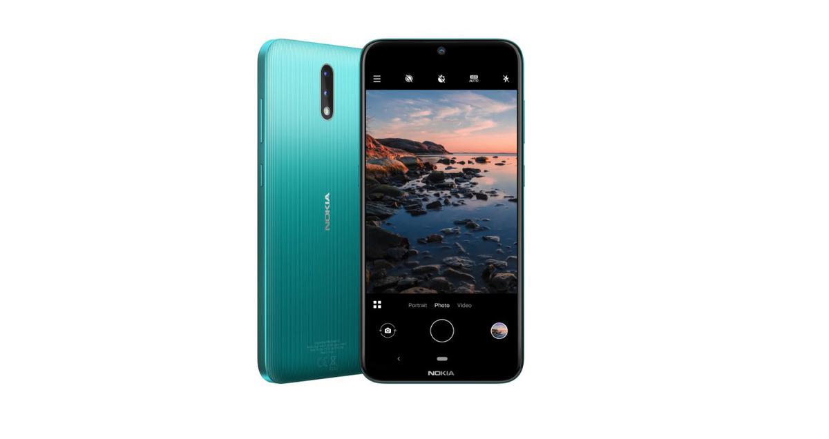 Nokia 2.3 jest plastikowa z wierzchu, a metalowa w środku