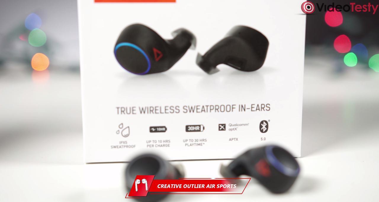 Słuchawki Creative Outlier Air Sports to miniaturowe rozwiązania