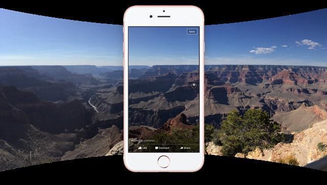 Facebook 360 zdjęcie panoramiczne